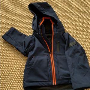 Michael Kors fleece lined water repellent coat